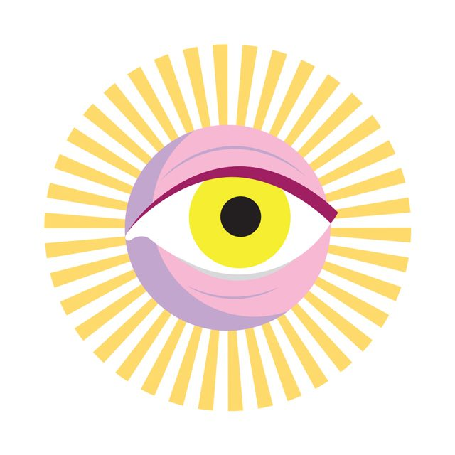 graphic design eye sun illustration creative writing short story